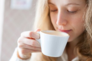 http://www.dreamstime.com/stock-images-coffee-beautiful-young-woman-drinking-hot-beverage-coffee-time-image29987034