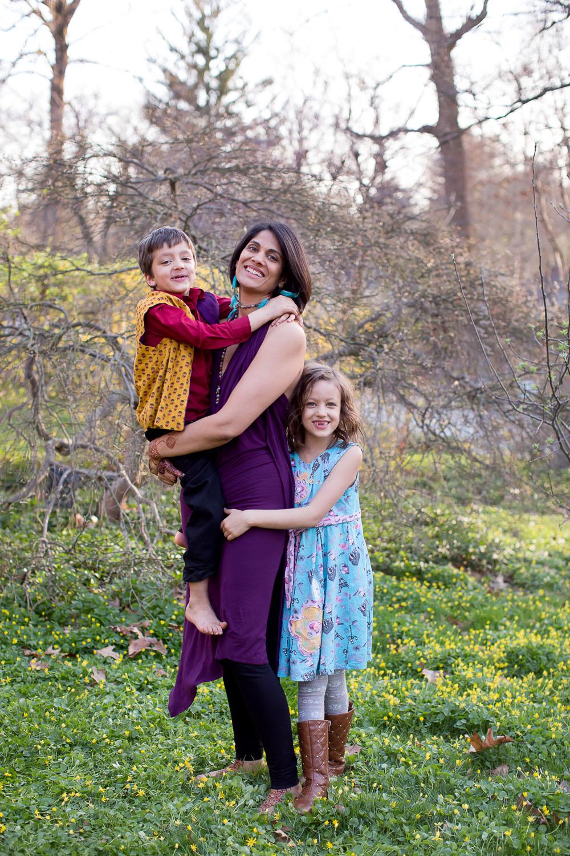 sheila pai with kids