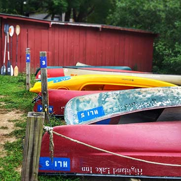 Canoes Joy-Filled Retreat